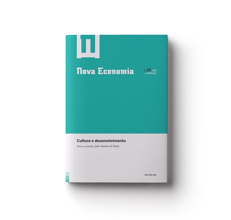 Nova Economia, Volume 29, Número Especial Cultura e Desenvolvimento