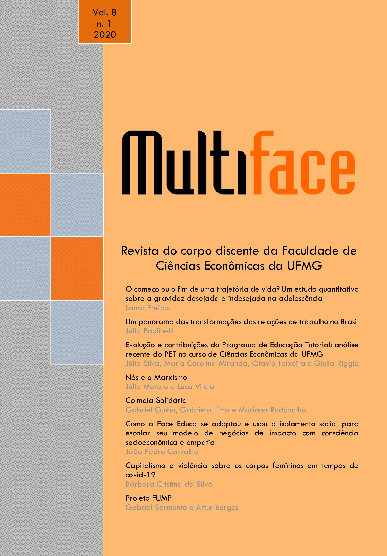 Visualizar v. 8 n. 1 (2020): Revista Multiface