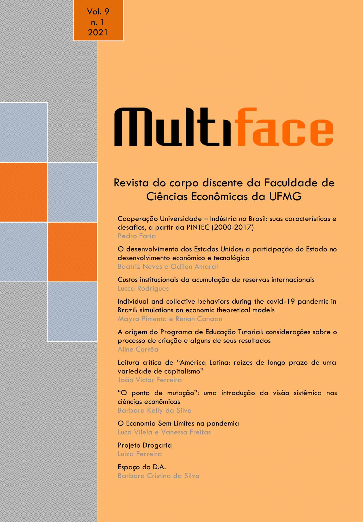 Visualizar v. 9 (2021): Revista Multiface