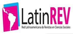 Logotipo do LatinRev com link externo para exibir a página da Revista no indexador